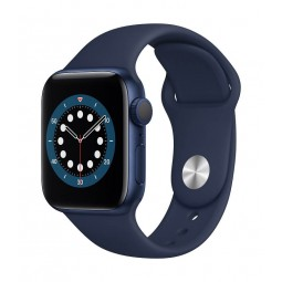 Apple Watch Series 6 GPS, 40mm Blue Aluminium Case with...