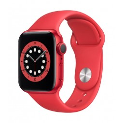 Apple Watch Series 6 GPS, 40mm PRODUCT(RED) Aluminium...