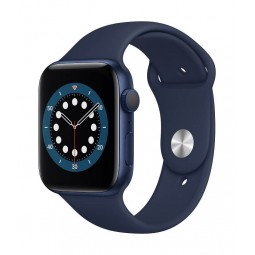 Apple Watch Series 6 GPS, 44mm Blue Aluminium Case with...