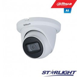 Dahua 2MP IP kamera kupolinė, Starlight, LXIR iki 50m,...