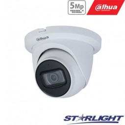 Dahua 5MP IP kamera kupolinė, Starlight, IR iki 30m,...