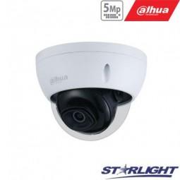Dahua 5MP IP kamera kupolinė, Starlight, AI, IR iki 50m,...