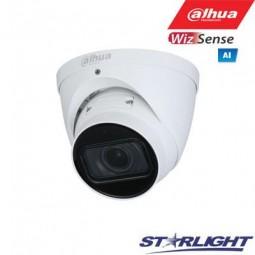Dahua 2MP IP kamera kupolinė, Starlight, Starvis, IR iki...