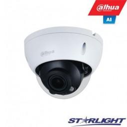 Dahua 5MP IP kamera kupolinė, Starlight, AI, LXIR iki...