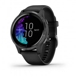Garmin Venu 43mm Slate/ Black, Silicone, Wi-Fi, GPS...