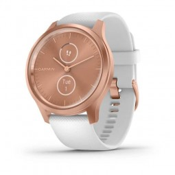 Garmin vivomove Style 42mm Rose Gold / White, Silicone,...