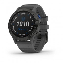 Garmin fenix 6 Pro Solar 47mm Black / Slate Gray,...