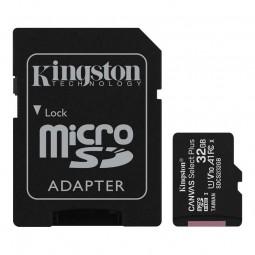 Kingston microSD 32GB Canvas Select Plus 100MB/s...