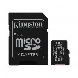 Kingston microSD 64GB Canvas Select Plus 100MB/s...