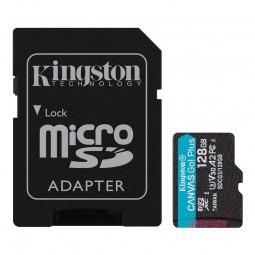 Kingston microSD 128GB Canvas Go! Plus 170MB/s atminties...