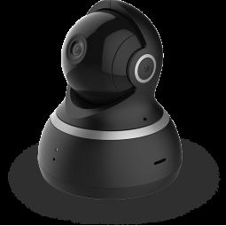 Xiaomi Yi Dome Camera 1080P vidaus stebėjimo kamera, juoda