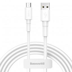Baseus Mini micro USB 2.4A 1m greito įkrovimo kabelis,...