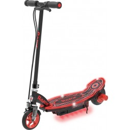 Razor Power Core E90 Glow Electric Scooter Red -...