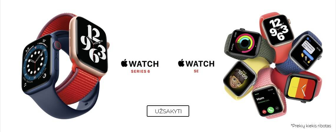 Apple Watch Series 6 and Watch SE